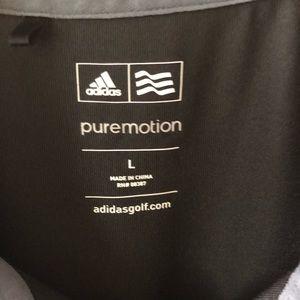 adidas Shirts - Adidas Black Golf Shirt in Large